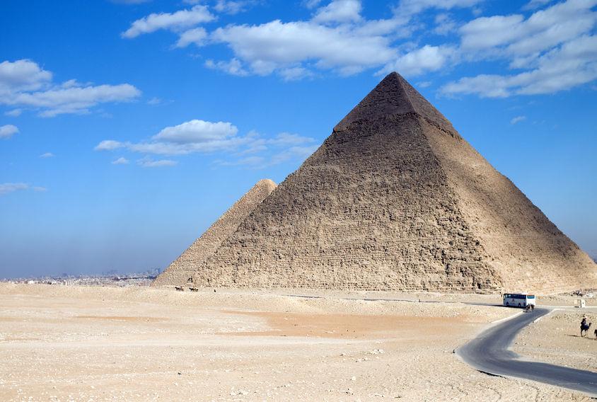 egitto, piramide