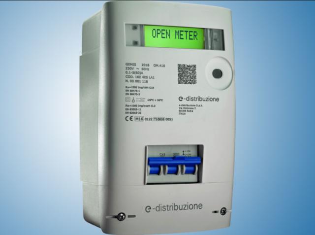 Nuovo contatore elettrico openmeter
