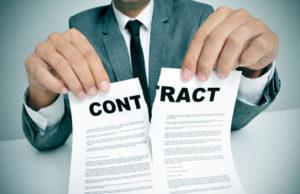 disdetta contratto