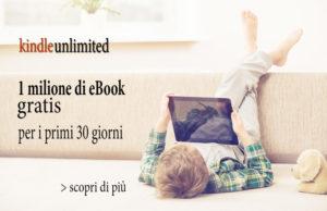 bimbo che legge ebook kindle gratis