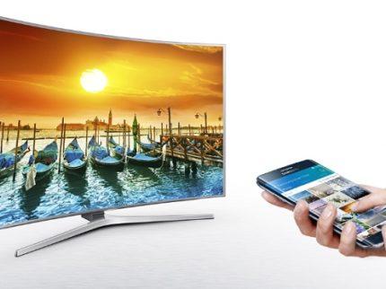 smart-view smartphone collegato alla smart tv samsung