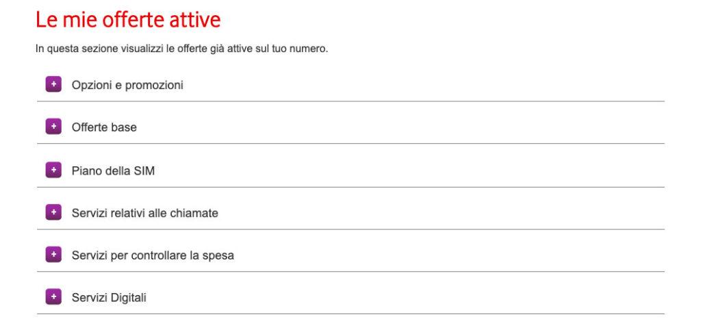 Controllare servizi a pagamento Vodafone e disattivarli